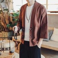 Kimono Men Japanese Kimono Men Costume Male Japanese Streetwear traditional japan Clothing Mens G059