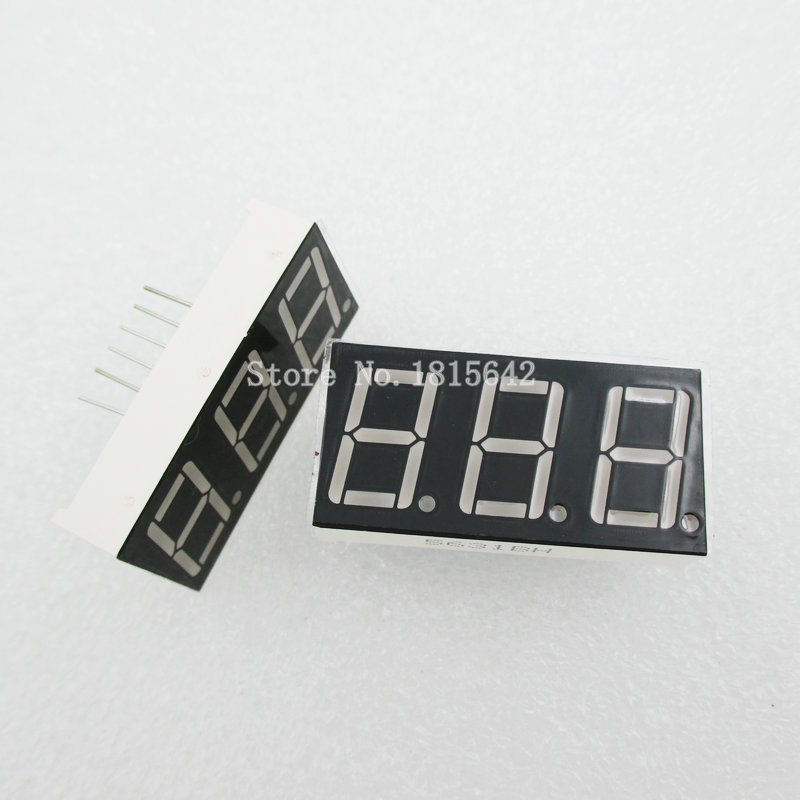 5PCS/LOT 3 Bit 3bit Digital Tube Common Anode Positive Digital Tube 0.56