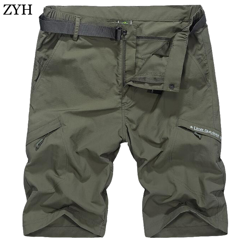 Men shorts 2018 Summer Style High Quality Quick Dry quickly Shorts Men Fashion casual Short Pants ...