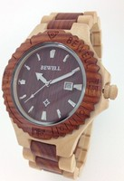 Relojes Luxury Brand Bewell Wood Wristwatch Men S Wood Watch With Gift Box