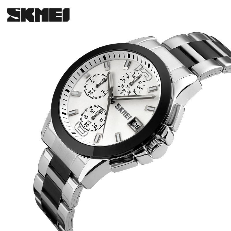 111eda4ab6 Skmei 9126男性ビジネスストップウォッチ30メートル防水時計2016トップメンズクォーツ腕時計カジュアルレロジオmasculinoカジュアル 腕時計