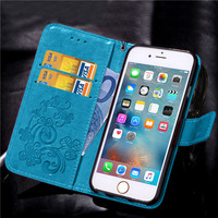case iphone 5 Leather Phone Case Wallet Cover For iPhone 5 5S SE 6 6S Plus 7 8 Plus Shell Capa Flip Stand Book For iPhone X XS Max XR Cover (3)