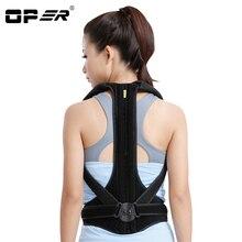 OPER Corsets Medical Back Adjust Back Support Brace Shoulder Belt Posture Corrector Lumbar support Waist Belt Men Women Teenager
