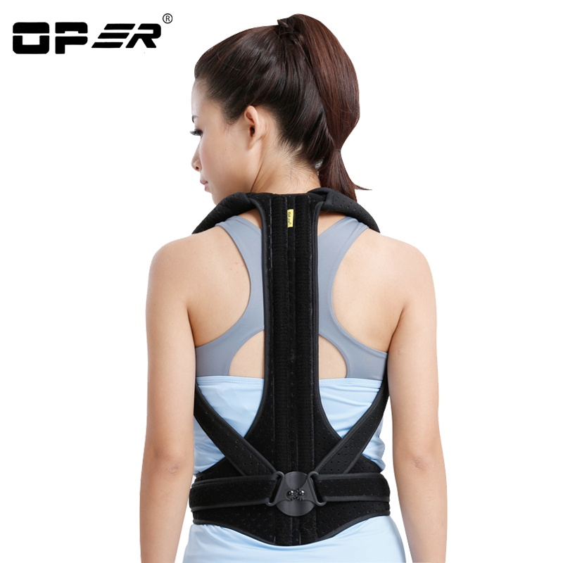 OPER Corsets Medical Back Adjust Back Support Brace Shoulder Belt Posture Corrector Lumbar support Waist Belt Men Women Teenager