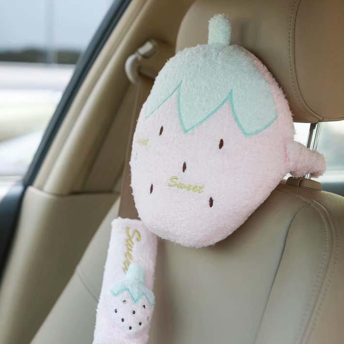 Gekwalificeerd Ivyye Aardbei Fruit Anime Kussen Decoratie Kussen Thuis Gooien Auto Kussens Soft Voor Kantoor Slaap Unisex Geschenken Nieuwe Goede Warmteconservering