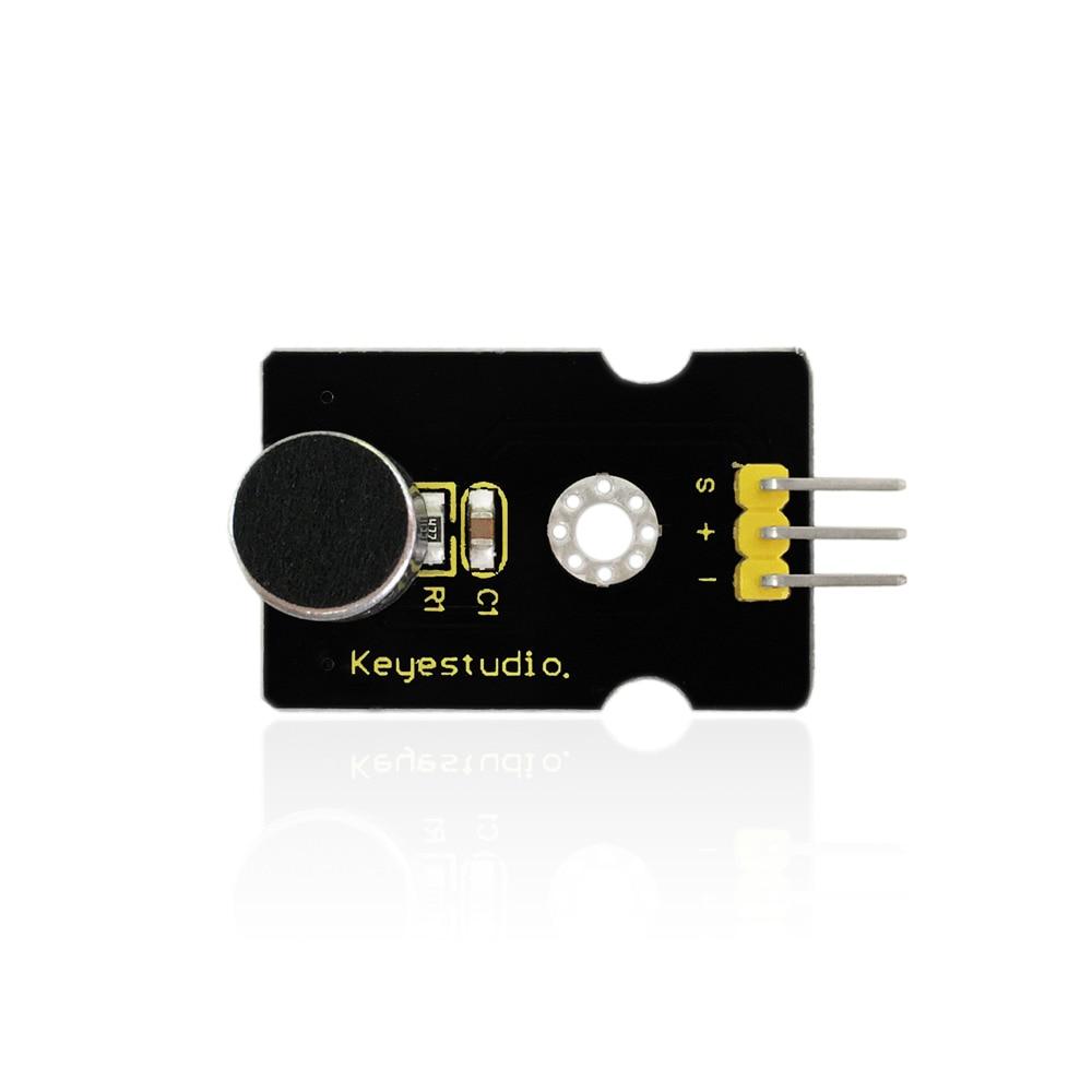 Free shipping !Keyestudio Analog Sound Noise Sensor Detection Module for Arduino