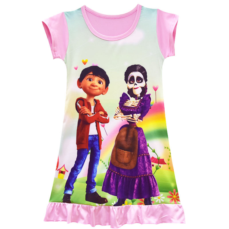 2019 Latest Design 2018 Summer Cartoon The Incredibles 2 Girl Dress Pink Childrens Nightgown Kids Clothing Mask Set Children Party Cosplay Costume Mother & Kids Dresses