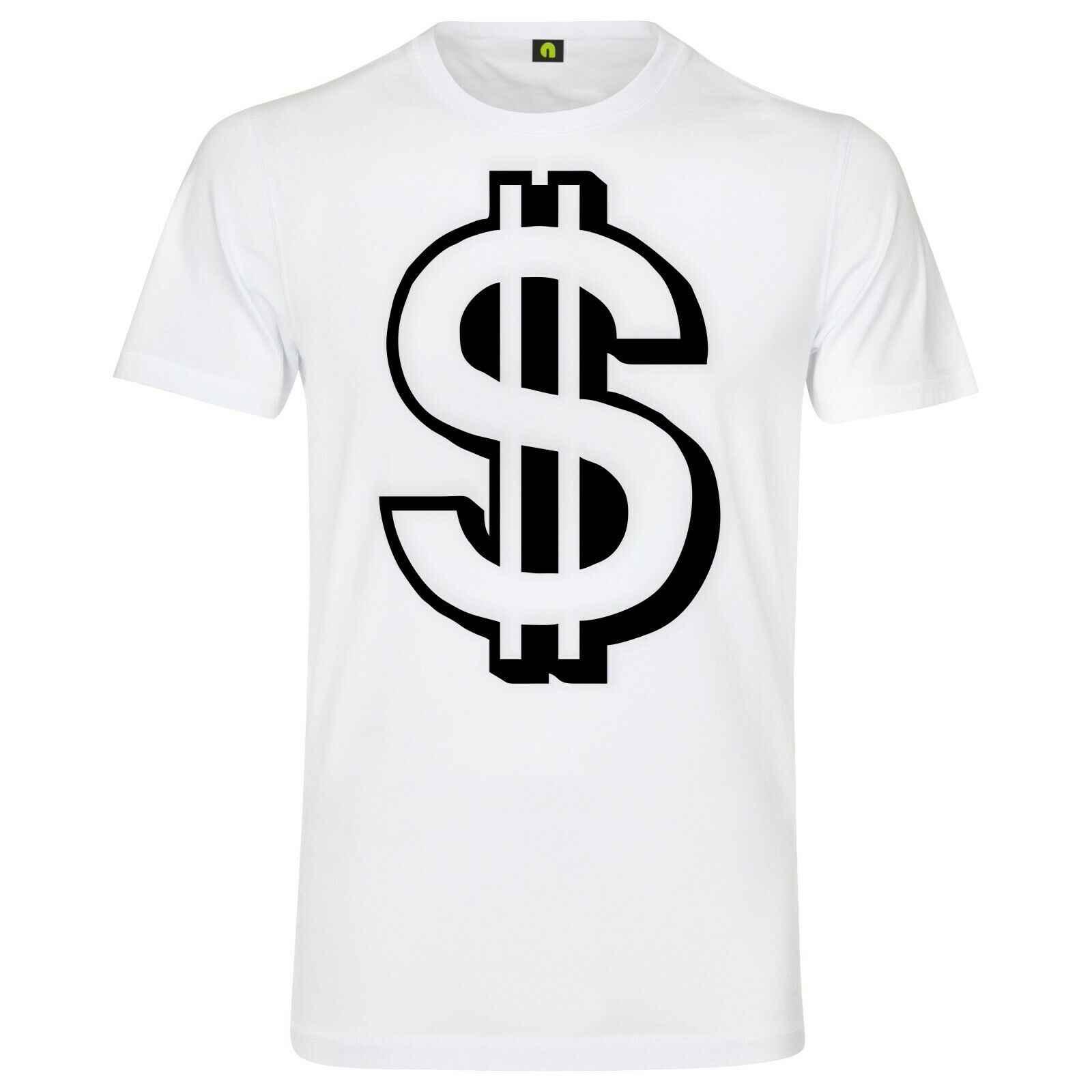 """דולר גברים חולצה ארה""""ב כסף מזומן Bitcoin בורסה Aktien harajuku mens t חולצות אופנה 2019"""