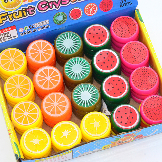 New Fruit slime toy Magnetic polymer Clay color Crystal slime Mud transparent for Kids Intelligent Hand Plasticine Mud Playdough