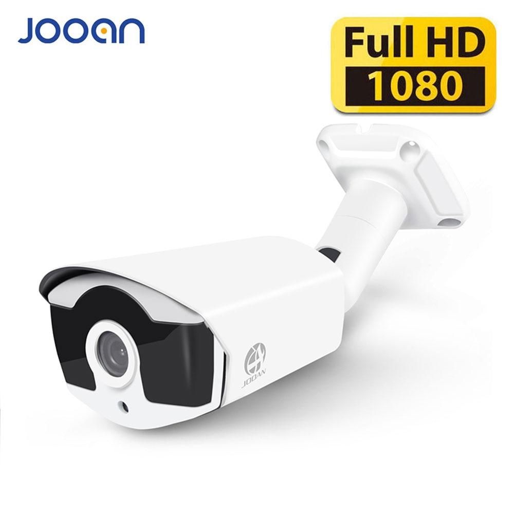 Cámara de seguridad JOOAN AHD 2.0MP 323 + V30E 4 Array Leds Cámara CCTV de vigilancia exterior con menú OSD Visión nocturna Bullet Camare