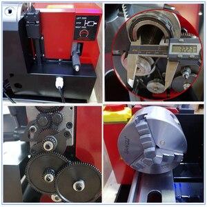 Image 5 - Motor sin escobillas, todos los engranajes de Metal, Mini torno, Cnc, máquina de torneado, pantalla Digital, agujero de husillo de 32mm