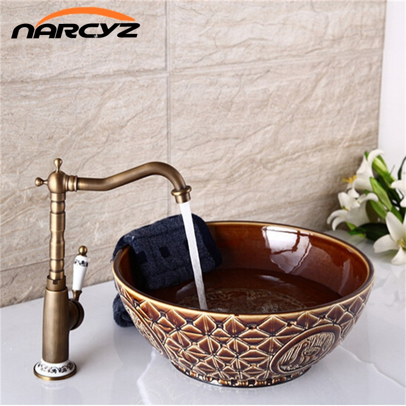 ancient style kitchen bathroom faucets cheap 8103achina mainland