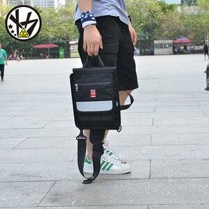 Image 4 - MACKAR 30x23x4cm bolsas para monopatín 1000D Cordura Nylon camuflaje Skate mochilas 900D polieter Oxford negro doble bolsa de balancín