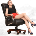 Hochwertigem leder massagestuhl kann zurücklehnen lift home computer stuhl bürodrehstuhl massage stuhl chef|swivel office chair|computer chairoffice chair -