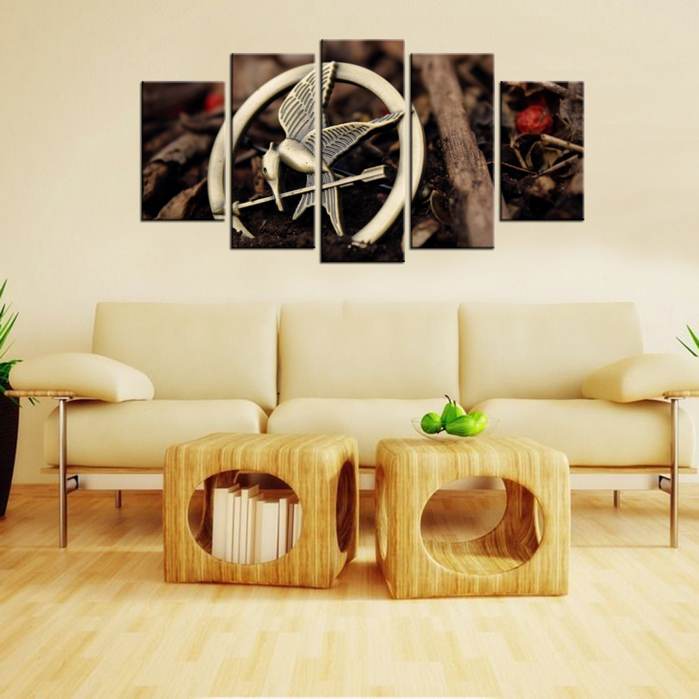 Hunger Games Catching Fire Logo Group Painting By Numbers Waterproof ...