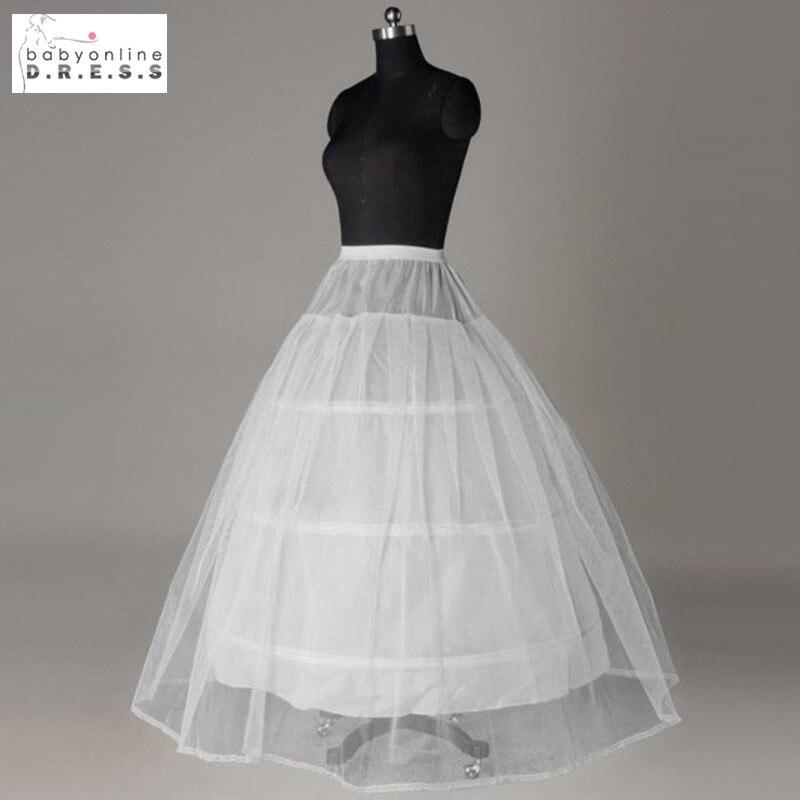 Hot Sale Cheap Price 3 Hoop Petticoat For Wedding Bridal