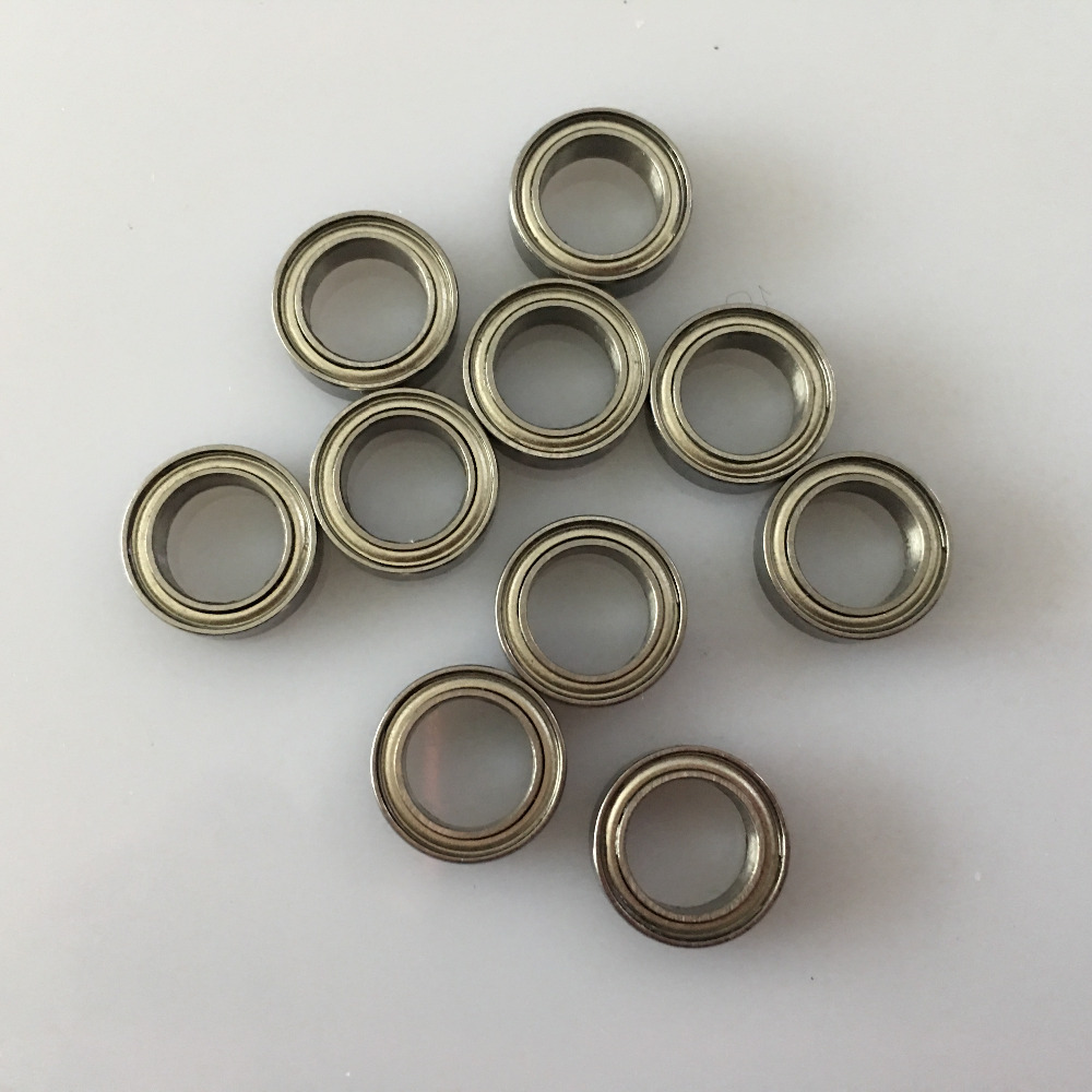 10pcs/pack YT1399b MR128ZZ Bearing 8*12*3.5mm Miniature Bearings Free Shipping Sealed Bearing Enclosed Bearing
