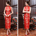 fall 2016 womans clothes plus size China's national dress cheongsam The party cheongsam cultivate one's morality    PJ3036