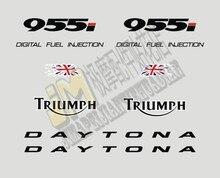 Darmowa wysyłka wysokiej jakości naklejka motocyklowa naklejki do malowania grafiki zestaw transferu pasuje do Triumph Daytona 955i rok 2000-2002