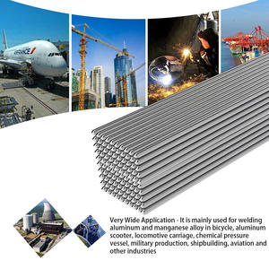 50/100 pcs 50cm Easy Aluminum Welding Rods Low Temperature 1.6mm 2mm No Need Solder Powder