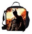 $Number inch crianças almoço saco lancheira térmica para crianças Batman saco de almoço almoço com isolamento térmico para menino