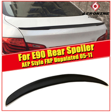 цены For BMW E90 M3 Sedan duckbill FRP Unpainted Trunk spoiler wing P style 3 series 323i 325i 328i 325i wing Rear spoiler 2005-2011
