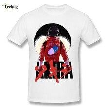 Awesome Man Novelty Akira T Shirts O-neck Breathable Shotaro Kaneda Motorcycle Neo Tokyo Tee