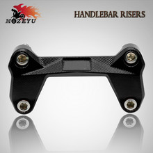 New style of high quality motorcycle CNC Aluminum Handlebar Risers Top Cover Clamp fit for KTM DUKE 390 200 125 2006-2015 orange