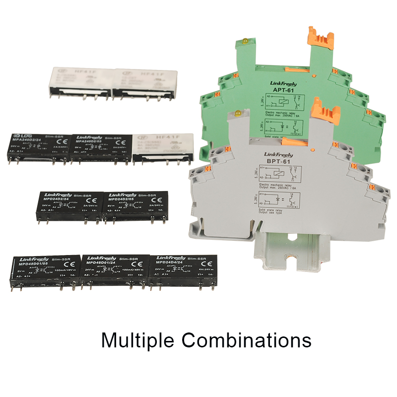 MPA D Solid State Relay Combinations