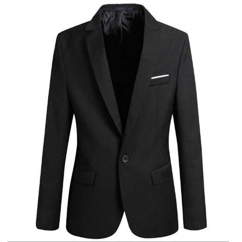 Dropshipping Mens Fashion Brand Blazer Britse Stijl Casual Slim Fit Pak Jas Mannelijke Blazers Mannen Jas Jas Voor Mannen business