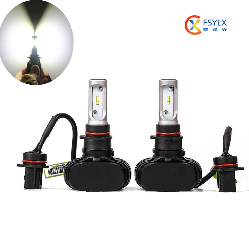 ФОТО Car Psx24w LED Headlight Conversion kit all in one PSX24w LED Headlights DRL fog light 50W 8000LM  led headlight bulbs
