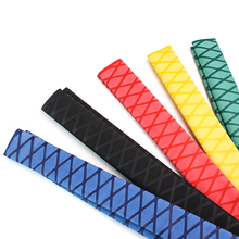Fishing Anti slip heat shrink tube for rod DIY 5 colors Tubing 1M 15/18/20/22/25/28/30/35/40/50mm electrical insulation kit