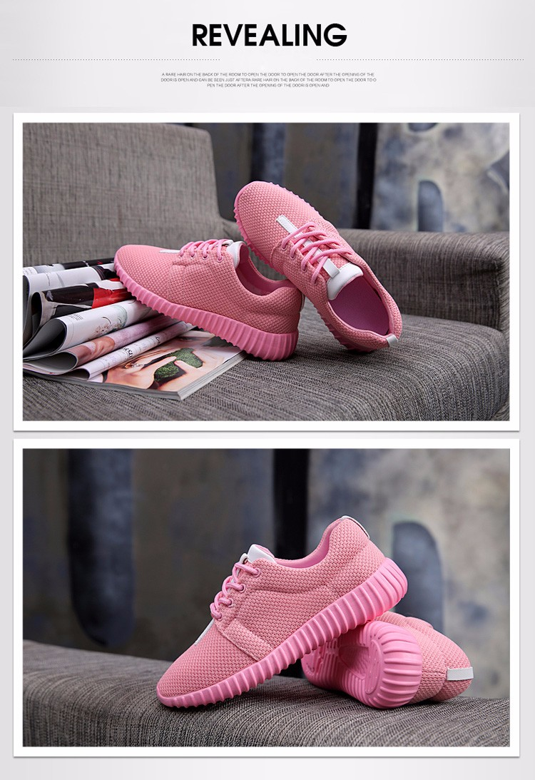 Super Soft Women Trainers Breathable Runner Shoes 2017 Spring Sport Women Casual Shoes Zapatillas Deportivas Fashion Shoes ZD11 (37)