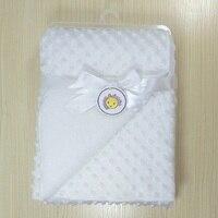 Baby Coral Fleece Blanket Newborn Kids Swaddling Wrap Thicken Lamb Multi Function Blankets Infant Bebe Bedding