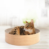 Cat's House Scratching Board Bowl Shaped Large Cat Sofa Corrugated Paper Pad For Grinding Claw Exercise Cats Bed