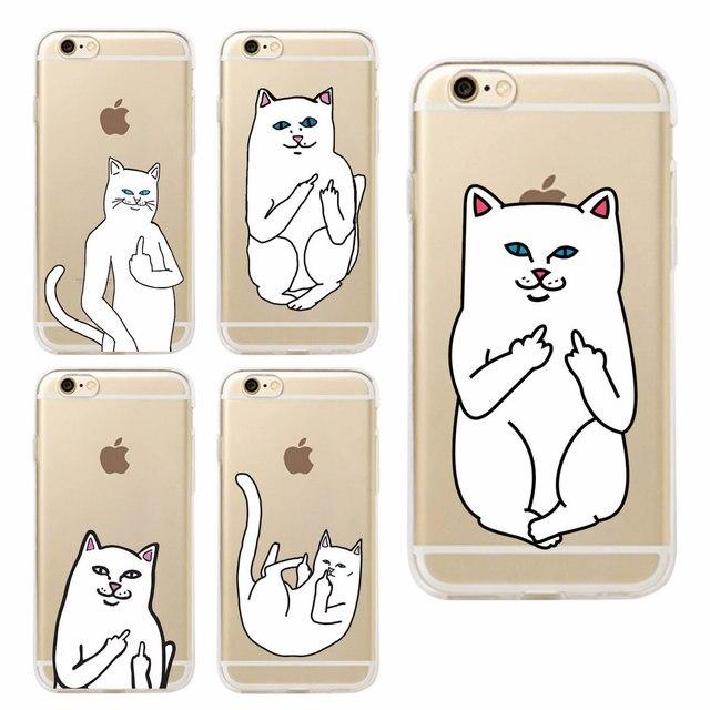 Finger Cat Case For Samsung & iPhone