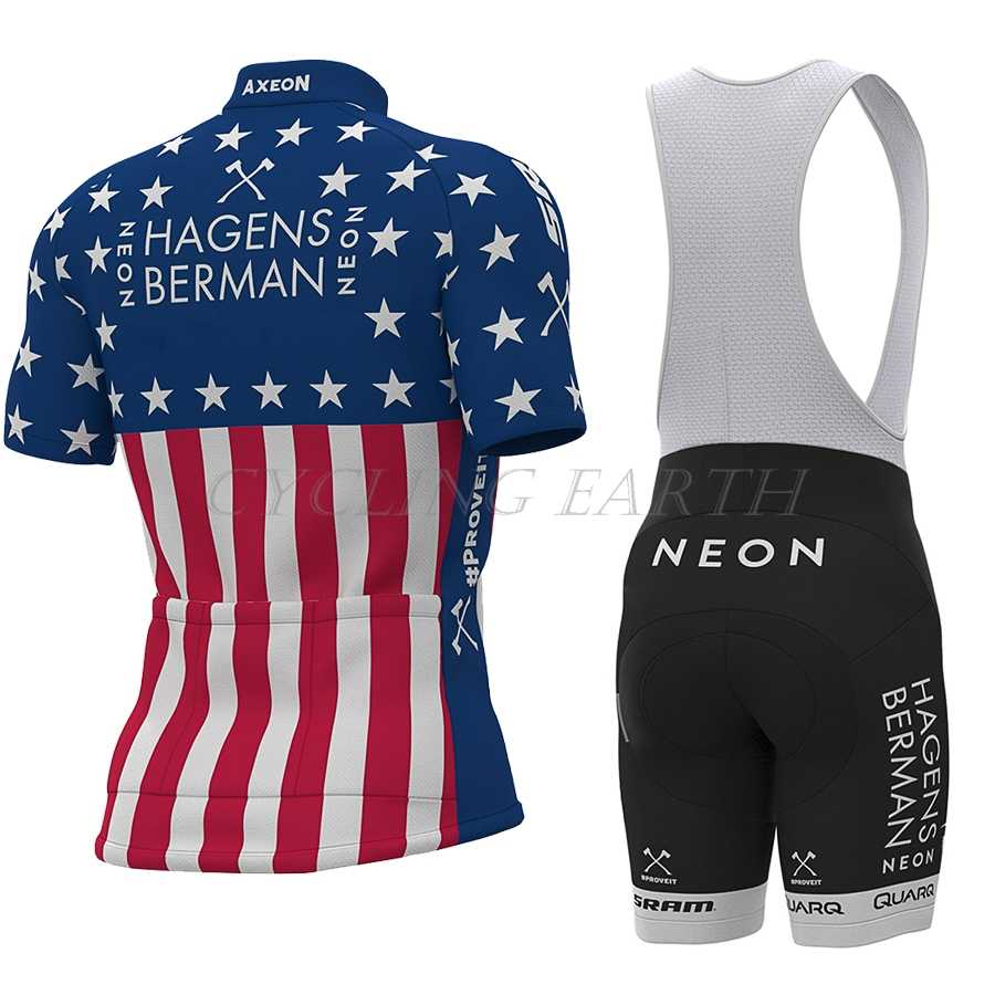 2019 Cycling Clothes Set Short sleeve Jersey and bib shorts Kit Summer Men
