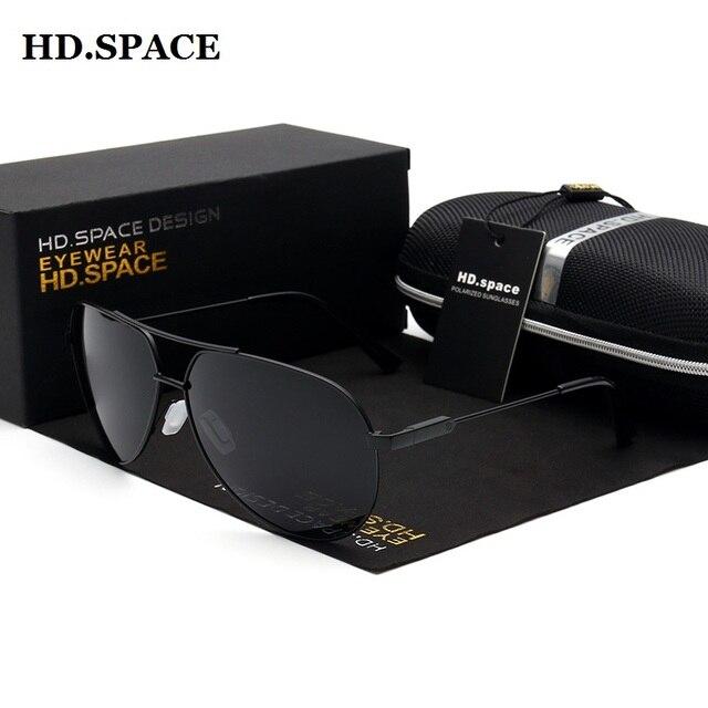Marca de moda óculos de Sol dos homens de Condução Espelho Óculos Escuros  Óculos De Sol 8f5a25282f
