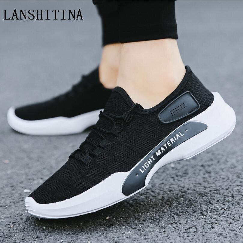 D été Chaussures Beige Et Respirante Hommes Toile Nouveaux gris Maille 2019  Occasionnels noir Tendance Mode ... f849e444e583