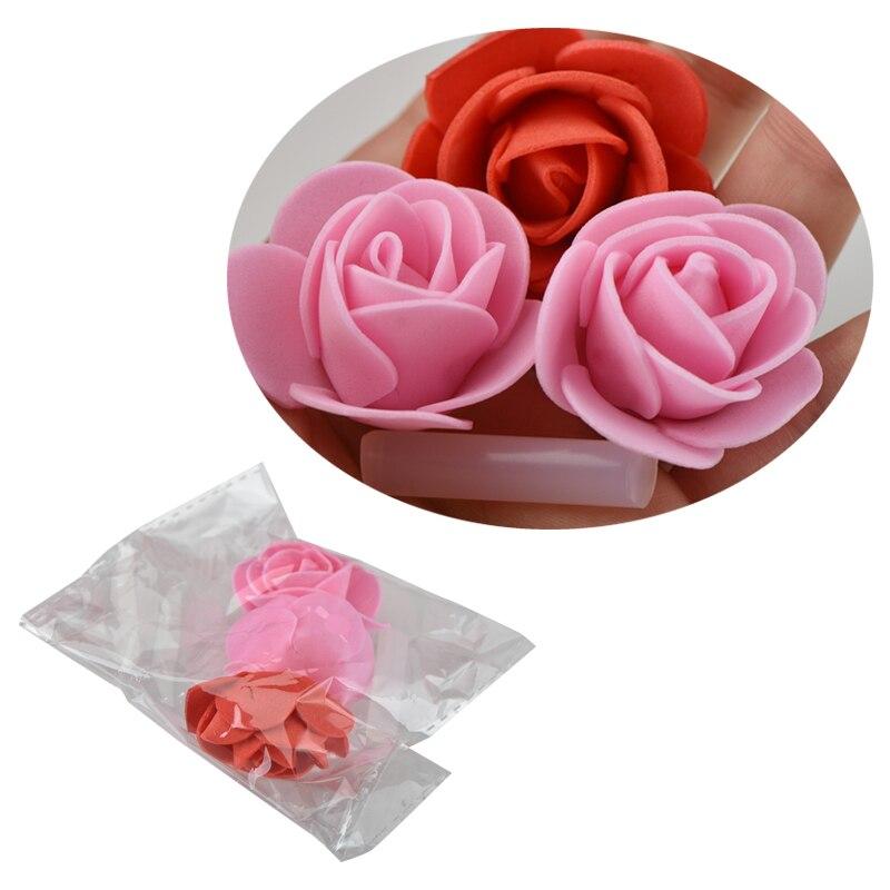 "WR 15/"" Pink Rose Teddy Bear //w Heart Flower Gift For Girlfriend Birthday Wedding"