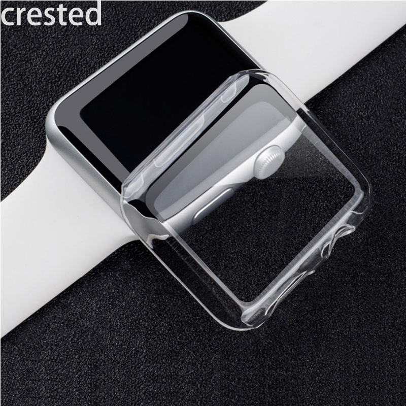 CRESTED Watch PC Frame case protective Case for Apple Watch 42 mm 38 mm Colorful plating cover shell for iwatch series 1 2 contemporary led wall lamp with butterfly lampshade for bedroom foyer 15w wall sconce white warm white indoor lighting lamp