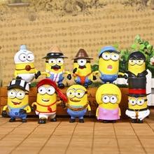 Minion Miniature Figurines Toys 10 Piece Set