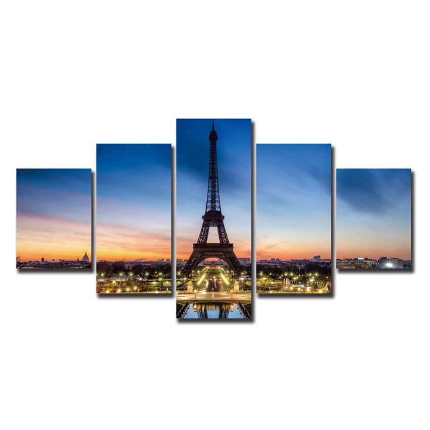 Online buy wholesale paris poster art from china paris for Buy canvas prints online