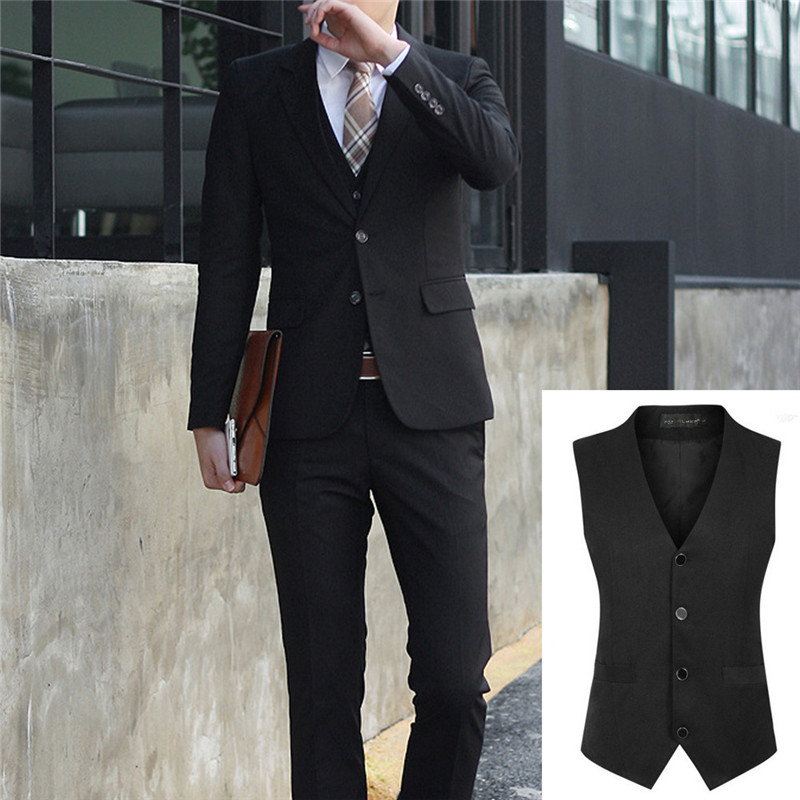 3PCS JACKET+PANTS+Vest Set Men Suits Plus Size Business Office Suits Male Wedding Party Blazer Bridegroom Groomsman Tuxedos