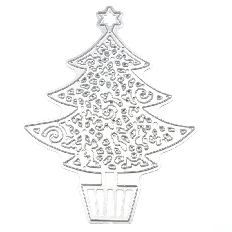 SP Christmas tree Metal Cutting Dies For Scrapbooking
