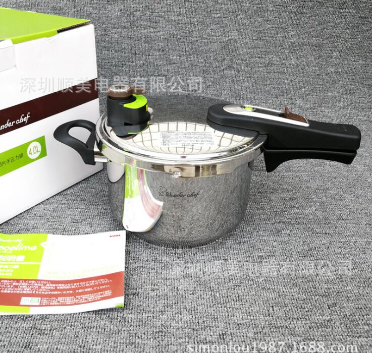 304  Stainless Steel Pressure Cooker For Induction Cooker And Gas Stove stew pressure cooking pot  export to Japan household mini electric induction cooker portable hot pot plate stove dorm noodle water congee porridge heater office eu us plug