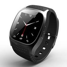 Оригинал Rwatch M26 Bluetooth Smart Watch роскошные наручные часы smartwatch с Набора SMS Напомнить Шагомер для Android Samsung телефон