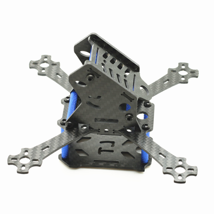 MINI X-143 LT143 1434 X-Axis Full Carbon Fiber Racing Mini Quadcopter Frame Kit for QAV130 LT130 Quadcopter RC Frame Drone DIY diy fpv mini drone qav210 quadcopter frame kit pure carbon frame cobra 2204 2300kv motor cobra 12a esc cc3d naze32 10dof