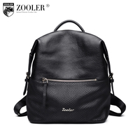 ZOOLER Brand Geniune Leather Backpack Women Fashion Style Women Backpack Versatile Top Quality Backpacks Elegant For