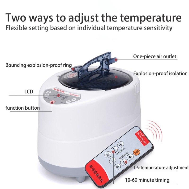 Portable Sauna Steam Bath Machine Sauna Bag Steam Generator Lose Weight keep Skin Healthy WET SAUNA ROOM Calories Burned in Sauna Rooms from Home Improvement